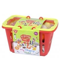 Игровой набор Playgo продуктов в корзине Play 3752
