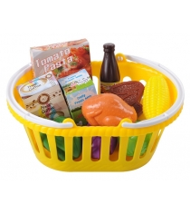 Игровой набор Playgo овощей в корзине Play 3756