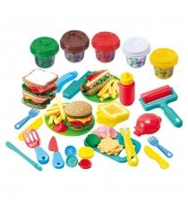 Набор с пластилином Playgo Гамбургер Play 8220