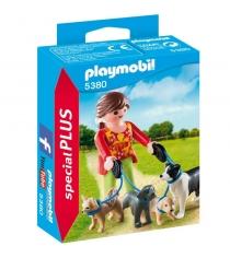 Экстра набор выгул собак Playmobil 5380pm