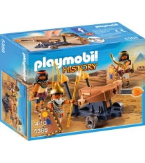 Римляне и египтяне египетский солдат с баллистой Playmobil 5388pm