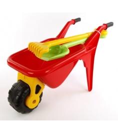 Тачка садовод с лопатой Полесье 4383