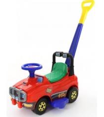 Машина каталка джип с ручкой и гудком красный Molto 62918...