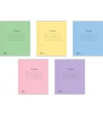 Ученическая тетрадь в линейку классика 12 листов Полиграфика 35206