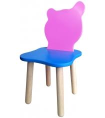 Стул детский Polli Tolli Джери Розовый Голубой