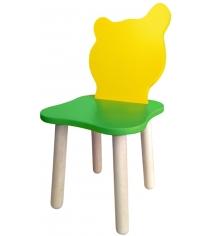 Стул детский Polli Tolli Джери Зеленый Желтый