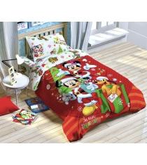 Комплект детского постельного белья Зимние забавы 2691601