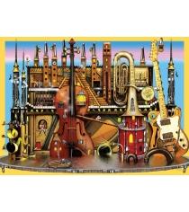 Пазл Ravensburger Музыкальный замок xxl 100 шт 10524