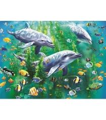 Пазл Ravensburger Три дельфина xxl100 шт 10605