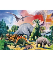 Пазл Ravensburger Среди динозавров xxl 100 шт 10957