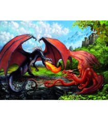 Пазл Ravensburger Битва драконов xxl 200 шт 12708