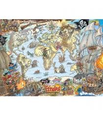 Пазл Ravensburger Пиратская карта xxl 200 шт 12802