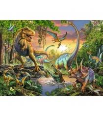 Пазл Ravensburger Опасные динозавры xxl 200 шт 12829