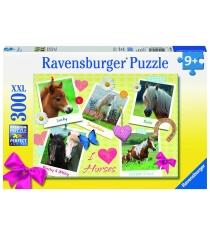 Пазл Ravensburger Мои любимые лошади xxl 300 шт 13186