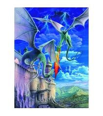 Пазл Ravensburger Огнедышащий дракон xxl 300 шт 13193