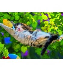 Пазл Ravensburger Кошка в гамаке xxl 300 шт 13204