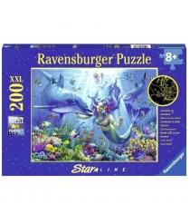 Пазл Ravensburger светящийся Подводный рай xxl 200 шт 13678