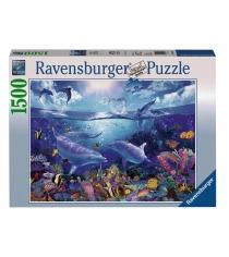 Пазл Ravensburger Жизнь дельфинов 1500 шт 16331