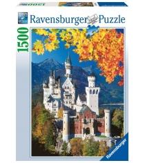 Пазл Ravensburger Осенний Нойшванштайн 1500 шт 16386