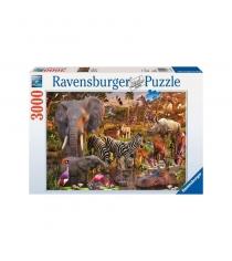Пазл Ravensburger Животные Африки 3000 шт 17037
