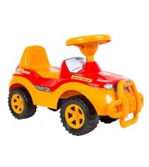 Каталка машинка RT Джипик с клаксоном красная ОР105