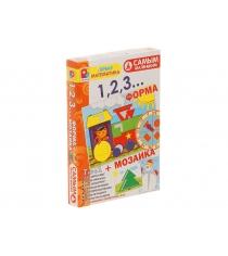 Настольная игра форма + мозаика самым маленьким Радуга С-984