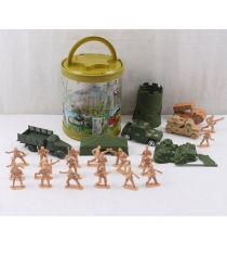 Игровой набор солдатики с аксессуарами