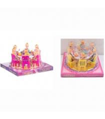 Игровой набор обеденный стол с куклами