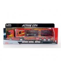 Инерционная машина racing rig машиновоз RealToy 18156