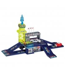 Игровой набор полицейский участок с машинкой и пусковой установкой RealToy 28516