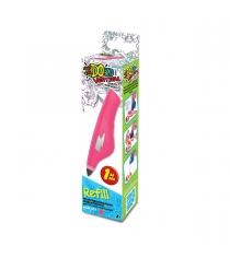 Картридж для 3Д ручки Redwood вертикаль цвет розовый 160011