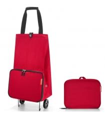 Сумка на колесиках Foldabletrolley Reisenthel HK3004 red