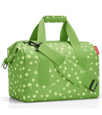 Сумка Allrounder M spots Reisenthel MS5039 green