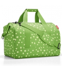 Сумка Allrounder L spots Reisenthel MT5039 green