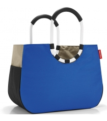 Сумка Loopshopper L patchwork royal Reisenthel OR4036 blue