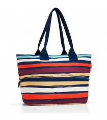 Сумка Shopper E1 artist stripes Reisenthel RJ3058