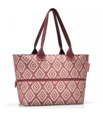 Сумка Shopper E1 Reisenthel RJ3065 diamonds rouge