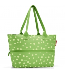 Сумка Shopper E1 spots Reisenthel RJ5039 green