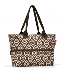 Сумка Shopper E1 Reisenthel RJ6039 diamonds mocha