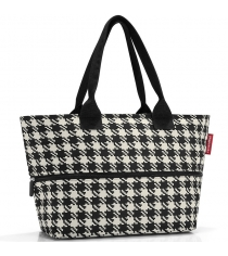 Сумка Shopper E1 fifties Reisenthel RJ7028 black