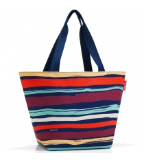 Сумка Shopper M artist stripes Reisenthel ZS3058
