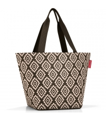 Сумка Shopper M Reisenthel ZS6039 diamonds mocha