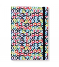 Книга для записей А4 Hexagon Remember NB53