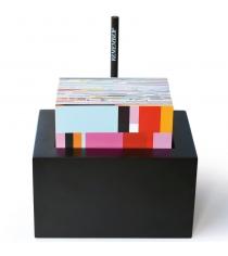 Держатель для записок с блоком Notebox Remember ZB01