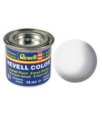 Эмалевая краска белая Revell РАЛ 9010 глянцевая 32104