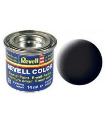Эмалевая краска Revell черная РАЛ 9011 матовая 32108