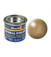 Эмалевая краска Revell латунь металлик 32192