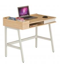 Компьютерный стол Rifforma CT-3582 белый клен