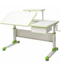 Парта трансформер Rifforma Comfort-34 зеленый белый