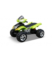 Электроквадроцикл зелёный